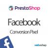 Facebook Pixel konverze PrestaShop 1.6