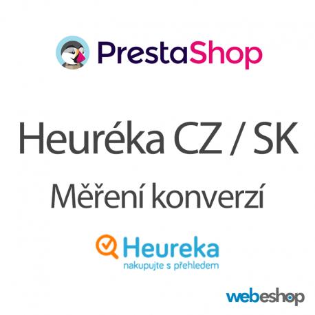 Heuréka CZ / SK - Měření konverzí - PrestaShop