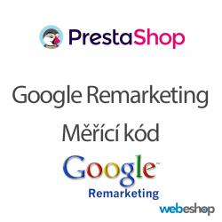 Google Remarketing kód - PrestaShop