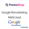 Google Remarketing - Měřící kód - PrestaShop