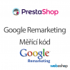 Google Remarketing kód - PrestaShop