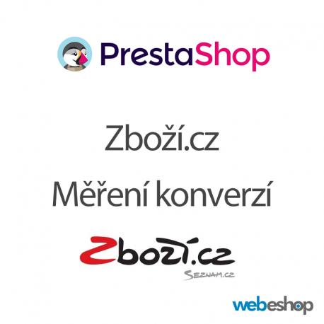 Zboží.cz - Měření konverzí - PrestaShop