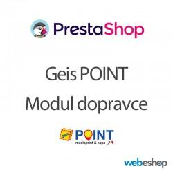 Geis Point - Modul dopravce - PrestaShop