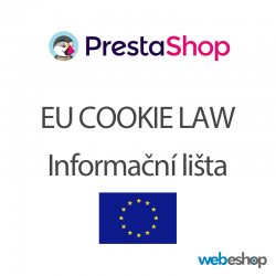 Integrace EU Cookie lišty - PrestaShop