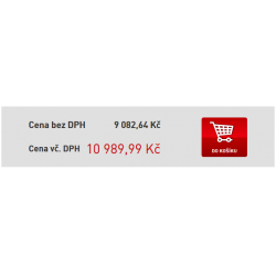 Zobrazení cen bez DPH / vč. DPH
