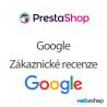 Zákaznické recenze Google (GCR) - modul - PrestaShop
